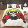Boxing Skull Duvet Cover Set Bedding covers Svetanya Single