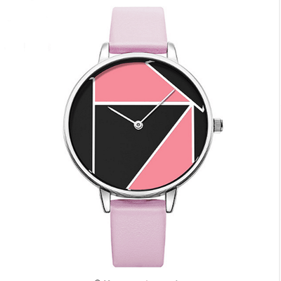 Brand Simple Casual Strap Watch Reloj Mujer Women Silver Watches SHENGKE Pink