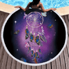 Butterfly Bohemian Round Towel Beach/Bath Towel BeddingOutlet Diameter 150cm