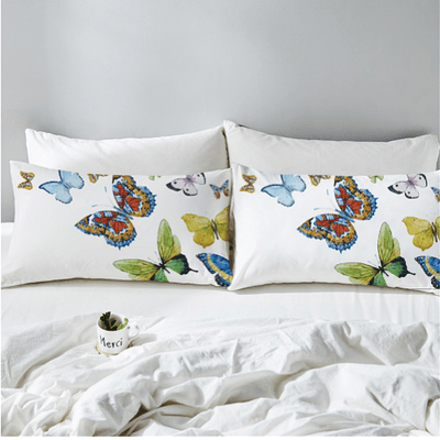 Butterfly Decorative Pillow Case Pillowcases BeddingOutlet