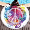 Butterfly Round Beach Towel Beach/Bath Towel BeddingOutlet Diameter 150cm