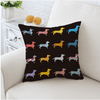 Cartoon Dogs Cushion Cover Cushion Cover BeddingOutlet 45cmx45cm