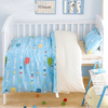 Cartoon Elephant Print Baby Bedding Set Baby Bedding Set Svetanya Crib Set