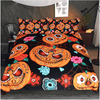 Cartoon Pumpkin Kids Bedding Set Bedding Set BeddingOutlet Single