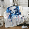 Cat Animal Eye Throw Blanket Throw Blanket BeddingOutlet 130cmx150cm