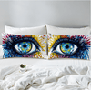 Charming Eye Watercolor Pillow Cases Pillowcases BeddingOutlet 50cmx75cm