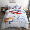 Christmas Bedding Set Bedding covers Svetanya Single
