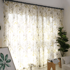 Cityincity Floral American Curtains Window Curtain CITYINCITY W100 x H250CM ROD POCKET