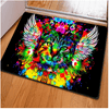 Colorful Animal Cat Floor Carpet Door & Floor Mats HUGSIDEA 400mm x 600mm