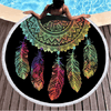 Colorful Dreamcatcher Beach Towel Beach/Bath Towel BeddingOutlet Diameter 150cm