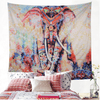 Colorful Elephants Printed Tapestry Tapestry BeddingOutlet 130cmx150cm