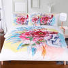 Colorful Flowers dreamcatcher Cover Set Bedding covers BeddingOutlet Single