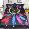 Colorful Night Moon Bedclothes Bedding Cover Set BeddingOutlet AU Single