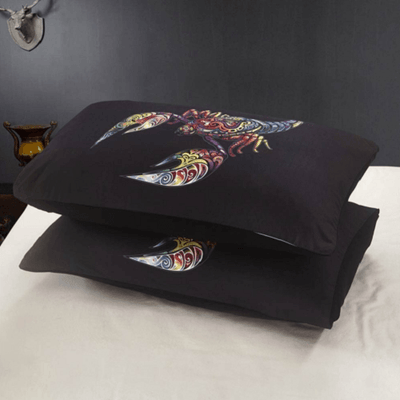 Colorful Scorpion Duvet Cover Set Bedding covers Svetanya