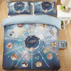 Constellations Duvet Cover Set Bedding covers Svetanya Single