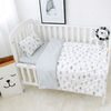 Cotton Grey Cloud Baby Bedding Set Baby Bedding Set Yaraca