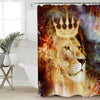 Crown Lion Shower Curtain Shower Curtains BeddingOutlet 90x180cm
