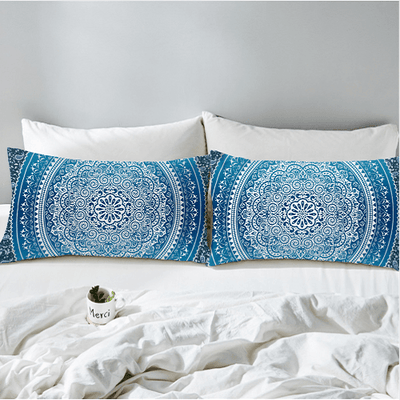 Crystal Arrays Blue Pillow Case Pillowcases BeddingOutlet
