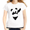 Cute Panda Casual Women T-Shirts Women T- Shirts JollyPeach S