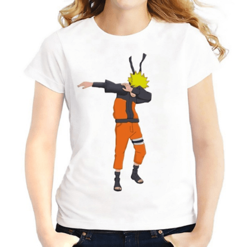 Dabbing Cute Cartoon Women T-Shirts Women T-Shirts JollyPeach S