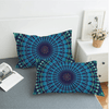 Dark Blue Decorative Pillowcase Pillowcases BeddingOutlet 50cmx75cm