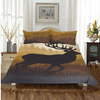 Deer Bedding Set Queen Forest Moose Bedding Set BeddingOutlet Single