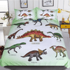 Dinosaur Family Bedding Set Bedding Cover Set BeddingOutlet Single