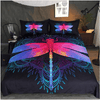 Dragonfly MandalaPurple Pink Bedding Set Bedding Set BeddingOutlet Single