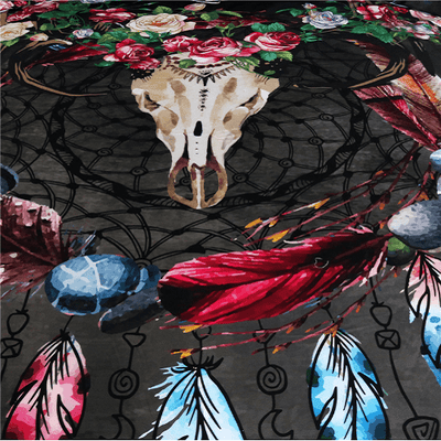 Dream Catcher Feather Bedding Set Bedding Cover Set BeddingOutlet