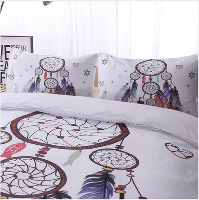 Dream-Catcher Feathers Bedding Set Bedding covers Svetanya
