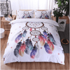 Dream-Catcher Feathers Bedding Set Bedding covers Svetanya Single