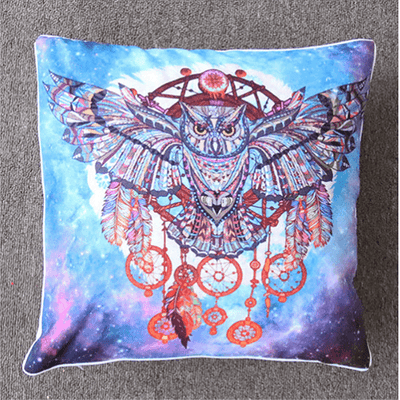 Dream Catcher Feathers Cushion Cover Cushion Cover BeddingOutlet