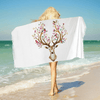Dreamcatcher Deer Beach Towel Beach Towel BeddingOutlet 75cmx150cm