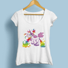 Drunken Animal Rainbow Casual Women T-Shirts Women T-Shirts JollyPeach S