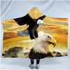 Eagle Collection Hooded Blanket Hooded Blanket BeddingOutlet