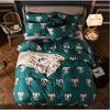 Elephant Dark Green Bedding Set Bedding Cover Set Svetanya single
