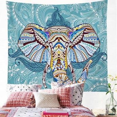 Elephant Wall Hanging Animal Twin Tapestry Tapestry BeddingOutlet