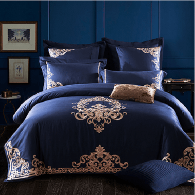 Embroidered Cotton Bedding Sets Embroidered Bed Set Svetanya single