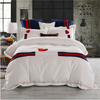 Embroidered Red heart Bedding Sets Embroidered Bed Set Svetanya Queen