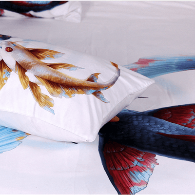 Eternal Bond Cryprinus Carp Pillow Case Pillowcases BeddingOutlet