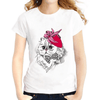 Fashion Lady Cat Women T-Shirts Women T-Shirts JollyPeach S