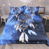 Feather Blue Dream Catcher Bedset Bedding covers BeddingOutlet Single