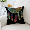 Feathers Dreamcatcher Cushion Cover Cushion Cover BeddingOutlet 45cmx45cm