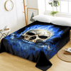 Flame Skull Bed Sheet Bedding Covers Sheets BeddingOutlet Twin