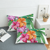 Flamingo Tropical Plant Quilt Cover Bedding covers BeddingOutlet