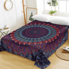 Floral Bohemian Soft Flat Sheet Bedding Covers Sheets BeddingOutlet Twin