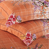 Floral Garden Orange Bedding Set Embroidered Bed Set Svetanya