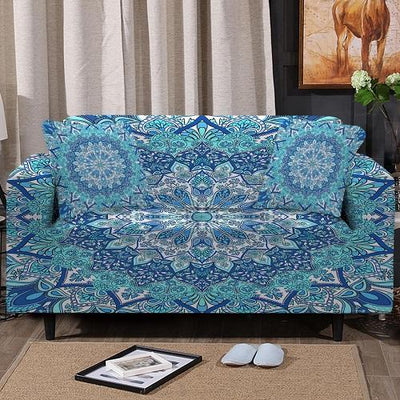 Floral Mandala Sofa Cover Sofa Covers BeddingOutlet 1-Seater