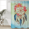 Floral Rose Dreamcatcher Shower Curtain Shower Curtains BeddingOutlet 90x180cm
