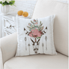 Floral Skull Cushion Cover Cushion Cover BeddingOutlet 45cmx45cm